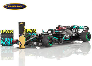 Mercedes-AMG Petronas Sieger GP Türkei 2020 Weltmeister Hamilton, Spark 1:18