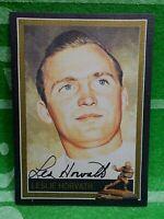 Les Horvath 1944 Heisman Ohio State Autographed DAC LINEN Card, JSA Full Letter!