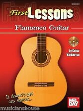 First Lessons Flamenco Guitar Learn to Play EASY GUITAR Music Book Online Audio