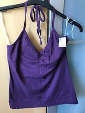 A BRAND NEW WITH TAGS LADIES XL HALTER NECK TOP
