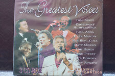 Greatest Voices 3 Cd Boxset Original Recordings 48Tracks Sealed MINT 1996 Sealed