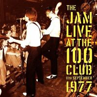 Live at the 100 Club 11 September 1977 The Jam Vinyl LP Record