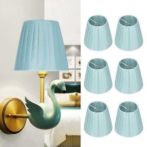 6Pcs Cloth Light Shade Tapered Pendant Lampshades Table / Floor Modern Shades
