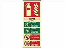 Scan - Fire Extinguisher Composite Foam - Photoluminescent 75 x 200mm