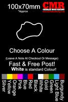 Thruxton Sticker Race track sticker car decal