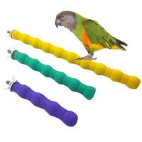Große Vogelspielzeuge kauen Papagei schleifen farbigen Schmirgel stehen Käfig VE