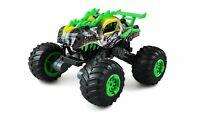 Ferngesteuerter RC Monstertruck Dino-Style 1:16 grün Komplettset
