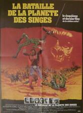 Battle For The Planet Of The Apes - Original Medium French Movie Poster