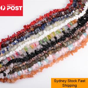 80cm Strand Gemstone Chips Amethyst Crystal Beads Jewellery Quartz Jewelry DIY