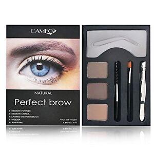 NEW Perfect Brow- * NATURAL Color * Brush Stencils Tweezer Brush