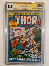 Thor 193   CGC 8.5 signed Gerry Conway    Silver Surfer battle cover   HOT - MCU