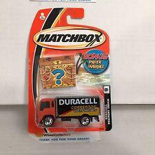 Duracell Delivery Truck * Orange/Black * Matchbox * NF14
