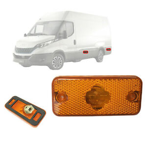 1x Peugeot Boxer Citroen Relay Fiat Ducato Iveco Daily Side Marker Lamp 1329718