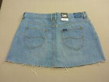Lee Women's Lola Womens Skirt Cotton Womens Jeans Blue 14