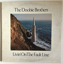 The Doobie  Brothers Livin' On The Fault Line Record Ex BSK 3045