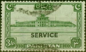 Pakistan 1948 3a Green SG020 Good Used