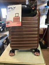 "iFLY Hardside Kids Fibertech Luggage 18"", Rose Gold"