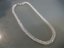 "10MM Men's Women's Silver Plated Fashion Necklace Chain 20"" long"