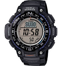 Casio Triple Sensor Watch, Compass, Thermometer, Altimeter, 5 Alarms, SGW1000-1A