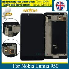 For Nokia Lumia 950 LCD Touch Screen Display Digitizer Glass Assembly with Frame