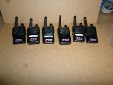 lot of 5 advanced wireless Awr-991 awc mini pro Handheld Commercial Radios