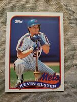 Kevin Elster New York Mets 1989 Topps Card ungraded**
