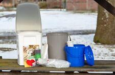 TriaTerra Einsteigerpaket: luxus -Komposttoilette - Terra Preta - Gartentoilette