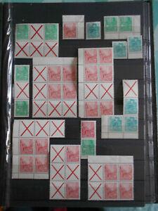 DDR Briefmarken Zusammendruck 5 Jahresplan postfrisch