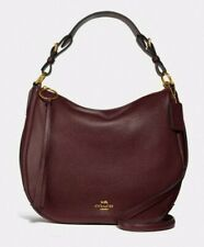 AUTH COACH SUTTON HOBO IN POLISHED PEBBLE LEATHER BNWT $ 325.00