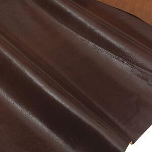 Ziegenleder 0,8 mm Dick Braun Oberleder Echt Leder Haut Fell Leather U114-10