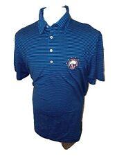 Ralph Lauren Golf Polo Shirt Vintage Lisle Mount Washington Resort Logo Sz L