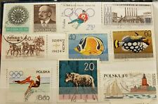 Poland - various stamps - stamped