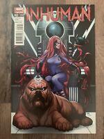 Inhuman 2 1:50 Frank Cho Incentive Variant Marvel Comics Lockjaw