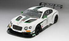 True Scale Bentley GT3 #7 Blancpain GT Silverstone Winner 2014 1/18