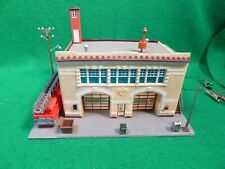 R.O.C. Taiwan HO Scale Fire Dept Building Lighted
