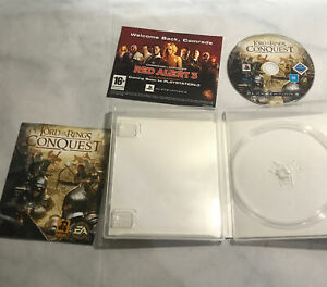 THE LORD OF THE RINGS CONQUEST PS3 action/adventure game Complete VGC - LOTR