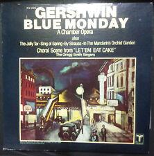 GERSHWIN - BLUE MONDAY VINYL LP U.S. PRESSING