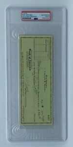 Rod Serling THE TWILIGHT ZONE Signed Cancelled Check Died 1975 PSA/DNA