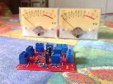 DIY KIT Analog VU meter stereo driver BOARD ONLY (no meters)
