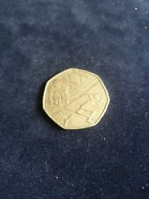 Rare & Valuable UK 50p Pence Coin Glasgow Commonwealth Games