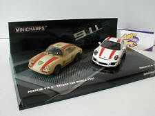 Minichamps 412066220 - 2er Set Porsche 911 R 2016 + 1967 Record Car 1:43 499 pcs