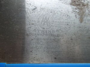 """E.C. ATKINS No. 65, """"PERFECTION"""" HAND SAW , STRAIGHT AND FRESHLY SHARPENED 10tpi"""