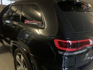 Fits Jeep Grand Cherokee 2014+  Blackout Die cut Kit - Vinyl Wrap Gloss / Matte