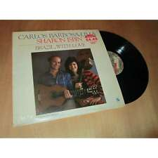 CARLOS BARBOSA-LIMA & SHARON ISBIN - brazil, with love - CONCORD JAZZ Lp 1987