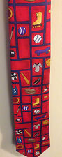 Necktie Neck Tie Save The Children Sports Baseball Football Skateboarding Soccer