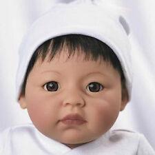 Lee Middleton Dolls Itty Bitty Newborn Nursery Baby, Black Hair, Brown Eyes