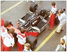 Photo Marlboro Mclaren TAG MP4/2B 1985 #1 Niki Lauda GP F1 Zandvoort (NL) open