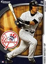 HIDEKI MATSUI Fathead Tradeables 5x7 Yankees Sticker