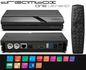 Dreambox One UltraHD 4K WiFi USB3.0 Bluetooth