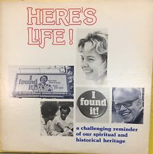 HERE'S LIFE! I FOUND IT! Campus Crusade For Christ Private Press Xian Folk LP